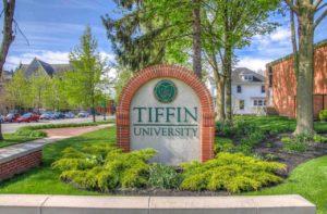 Tiffin University Sign